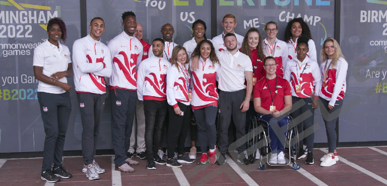 GB Commonwealth Team 2020