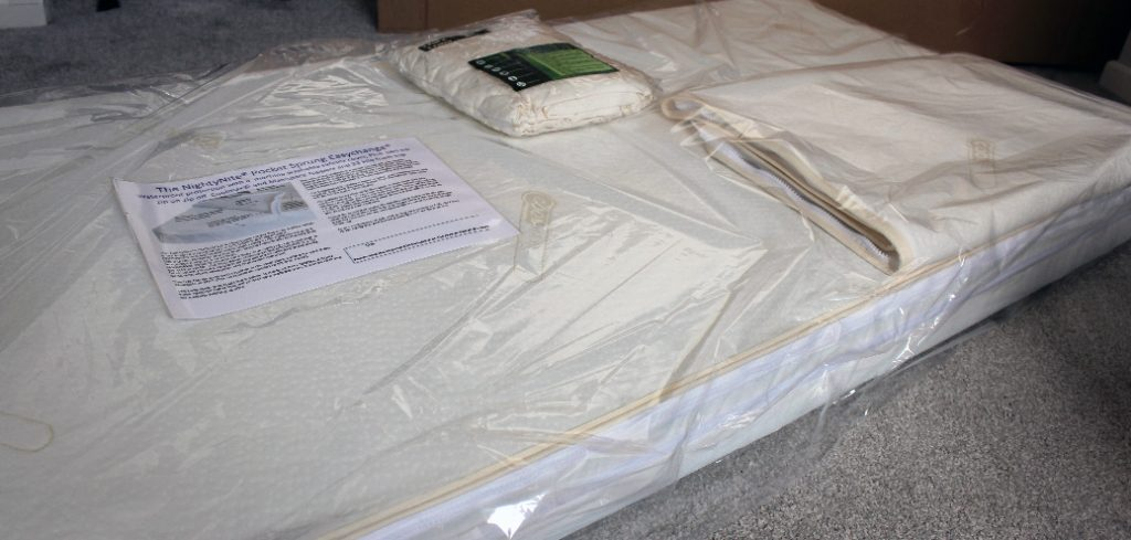 image of easychange mattress un-boxing